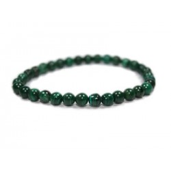 Bracelet Malachite perles 6 mm