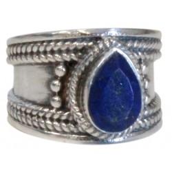 Lapis lazuli bague Argent