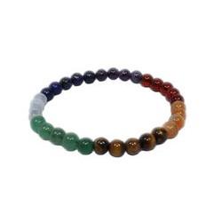 7 chakras perles 6 mm